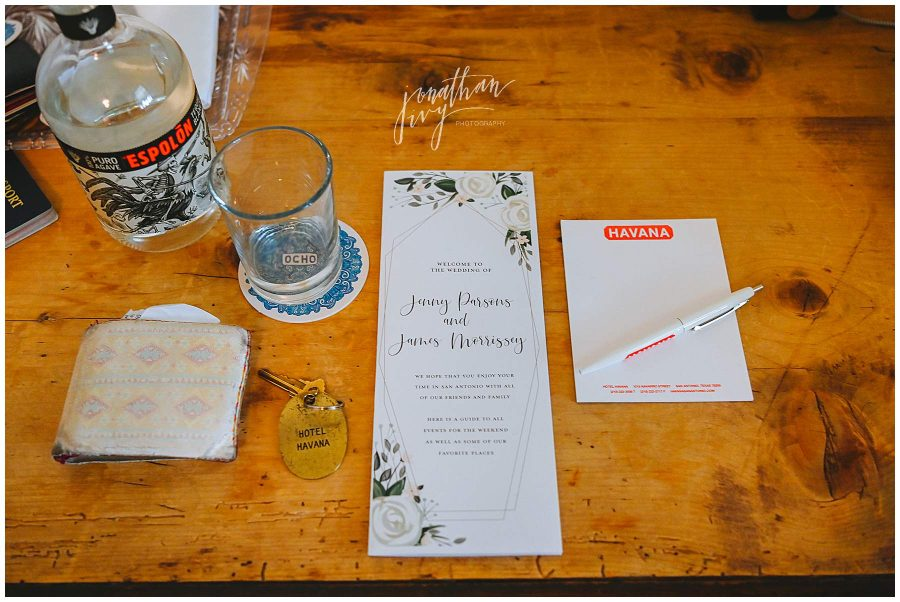 San antonio Wedding invitation