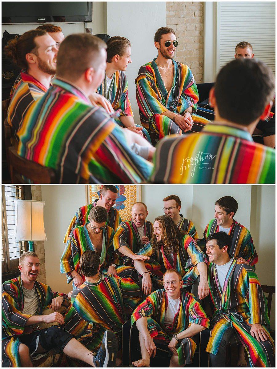 Groomsmen robes