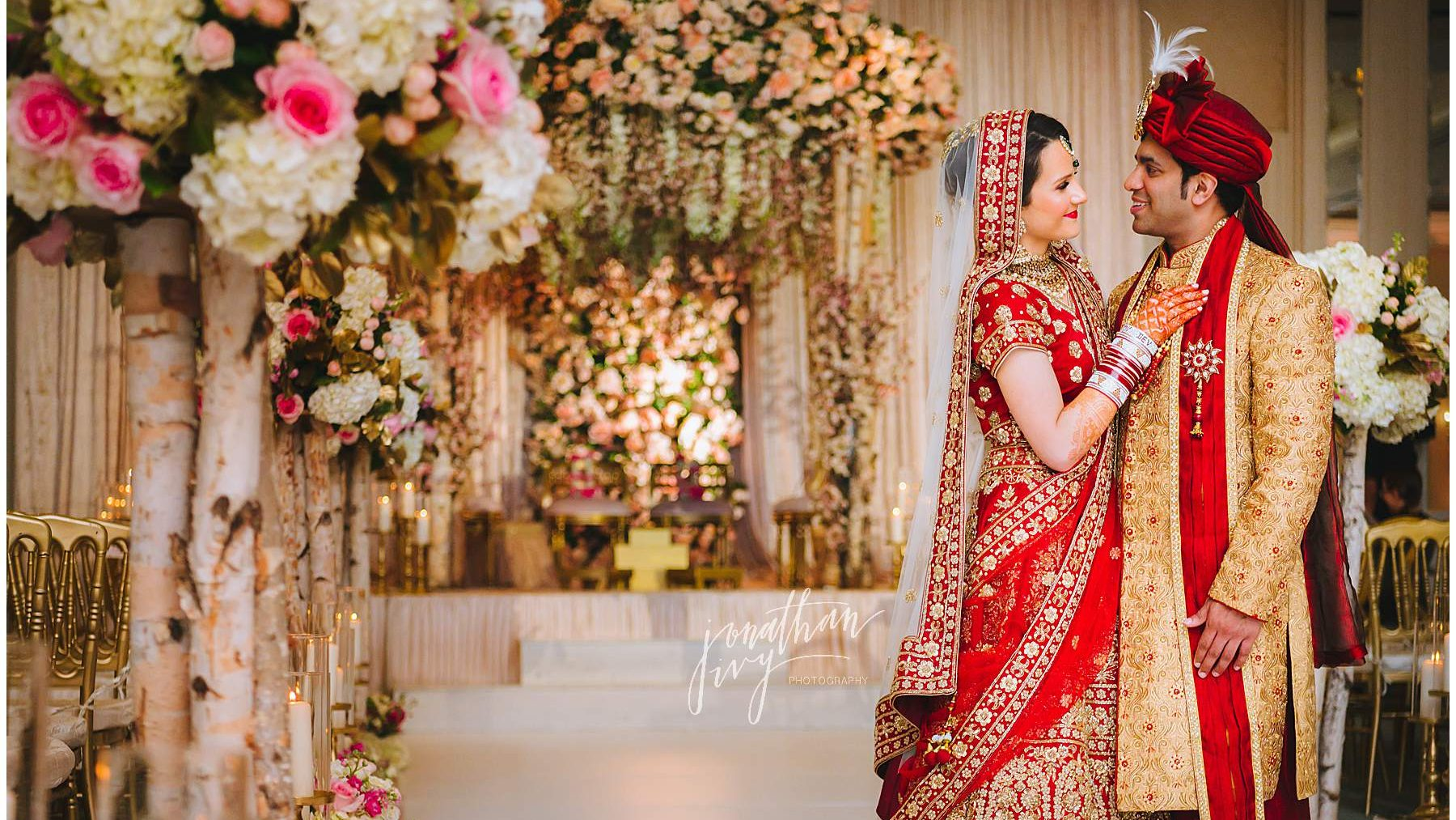 Four Seasons Indian Wedding Photographer – Dev & Kendyl