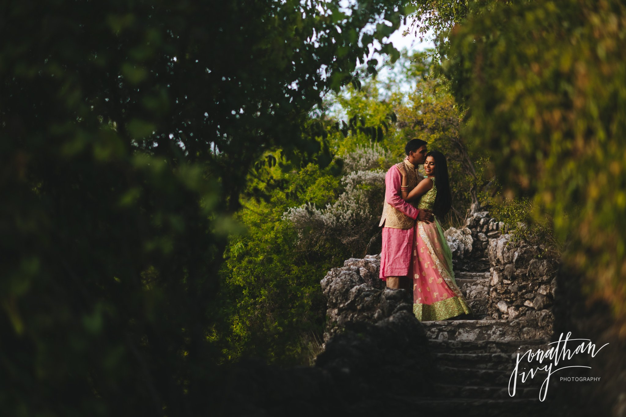 South Asian Traditional wear Engagement Photos