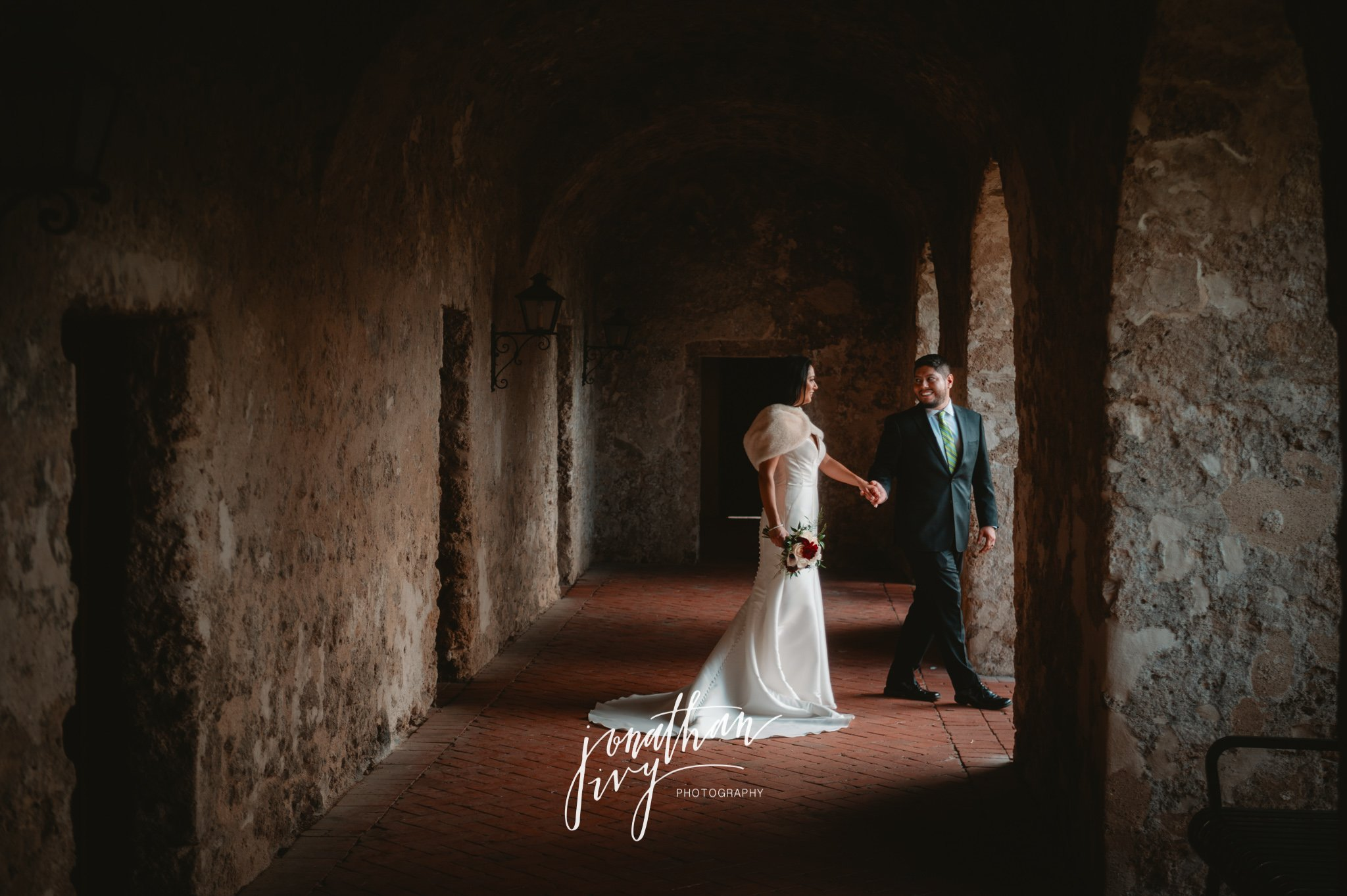 Mission Concepción Wedding in San Antonio